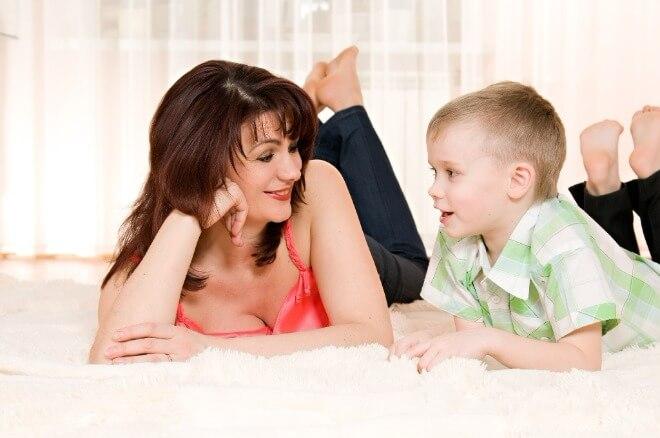 Dječak-i-majka