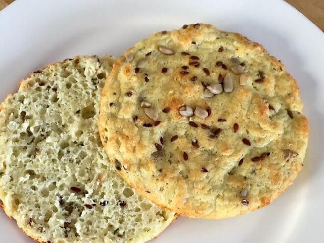 Kruh bez brašna i jaja