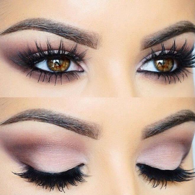 šminka smeđe oči