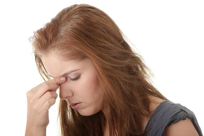 Upala sinusa i glavobolja