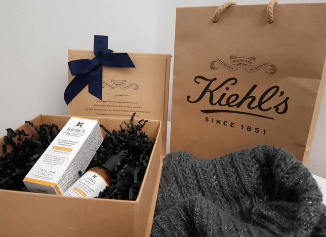 Kiehl's recenzija vitamin C serum poklon