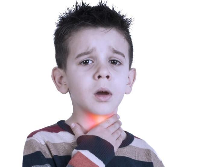 Simptomi-epiglotitisa