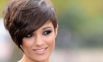 kratke frizure za okruglo lice