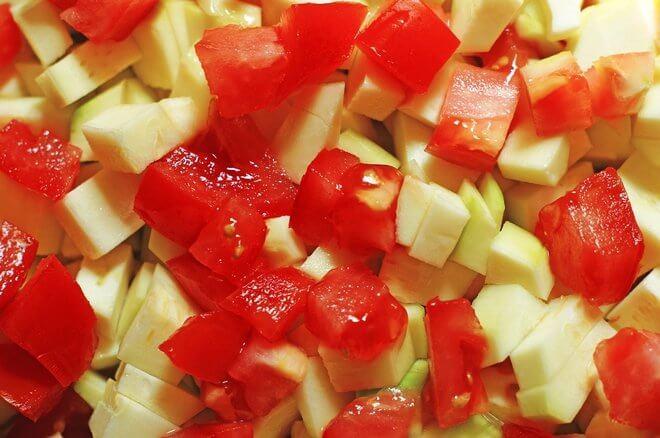 Tikvice i rajčice