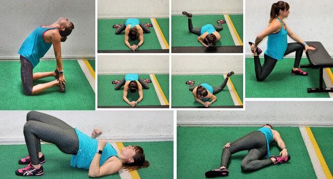 Vježbe za gornji dio leđa