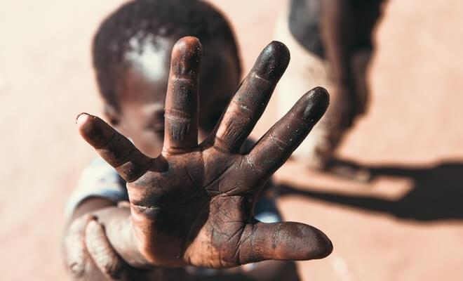 Dijete u Africi