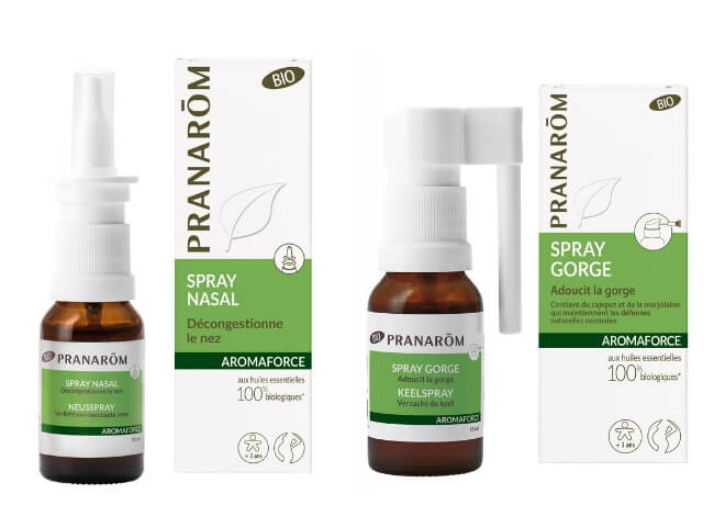 Aromaforce nos grlo