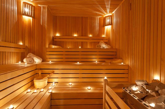 sauna - hotel aristos