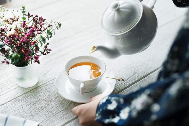 Nezaslađeni zeleni čaj