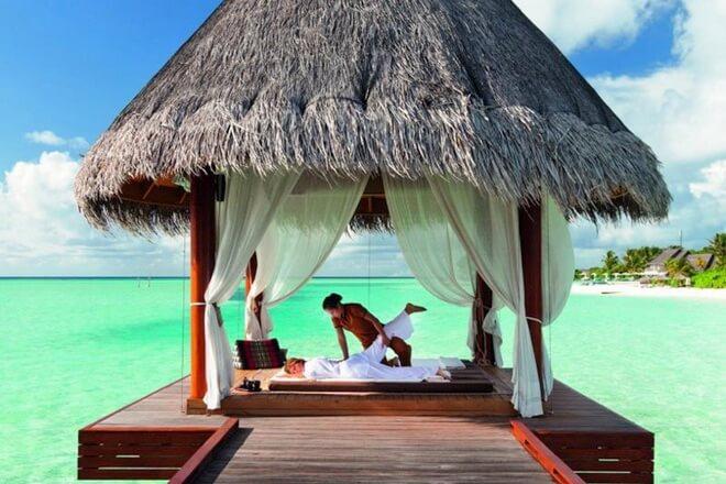 Maldivi - masaže