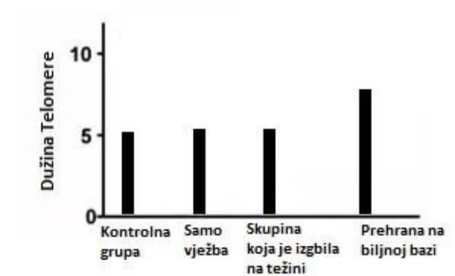 Početak studije o dužini telomera