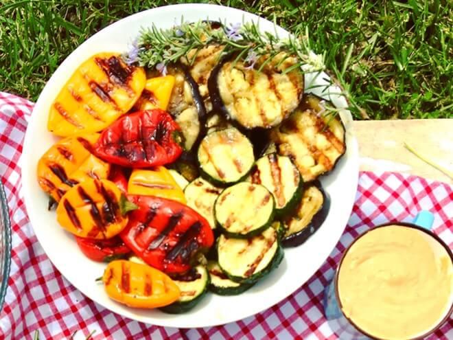 Povrće s roštilja