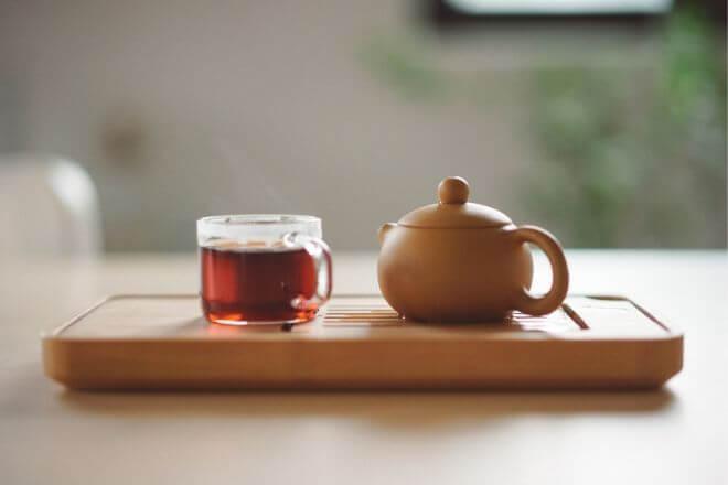 Konzumacija čaja od borovnice