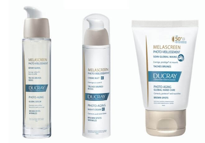 Melascreen serum, noćna krema i krema za ruke