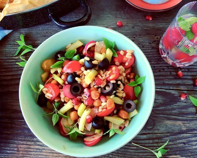 Salata od žitarica