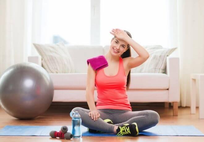 Prekomjerno znojenje vježbanje