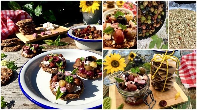 grozde i smokve kolaž