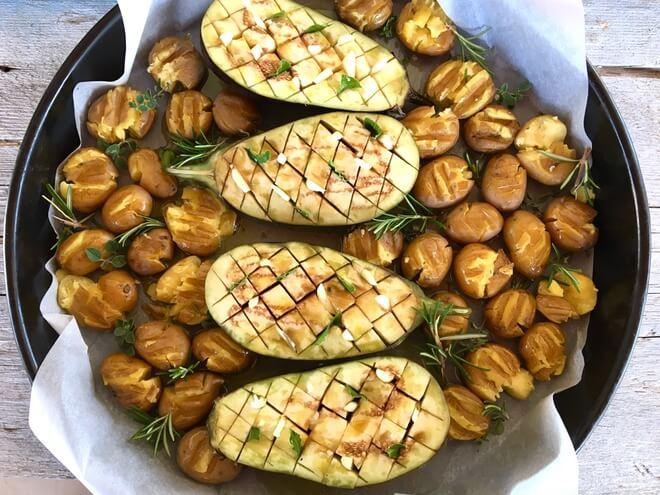 patlidžan i krumpir
