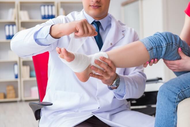 artroskopija gležnja