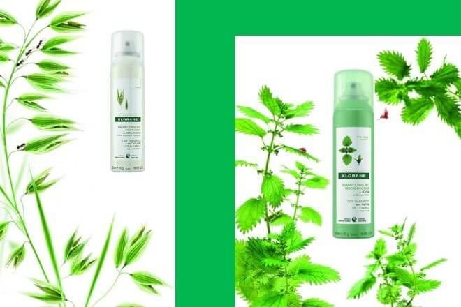Klorane suhi biljni šamponi