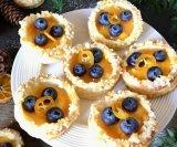 Košarice od mandarine i vanilije