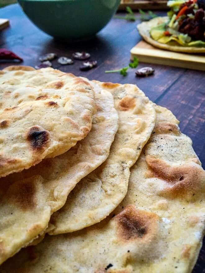 Tortilje od privog i kukuruznog brašnav