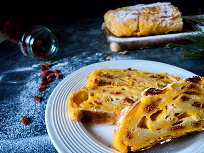 Veganska rolada od sira pudinga i griza1