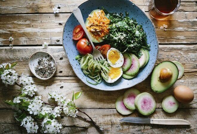 Vegetarijanski obrok s proteinima