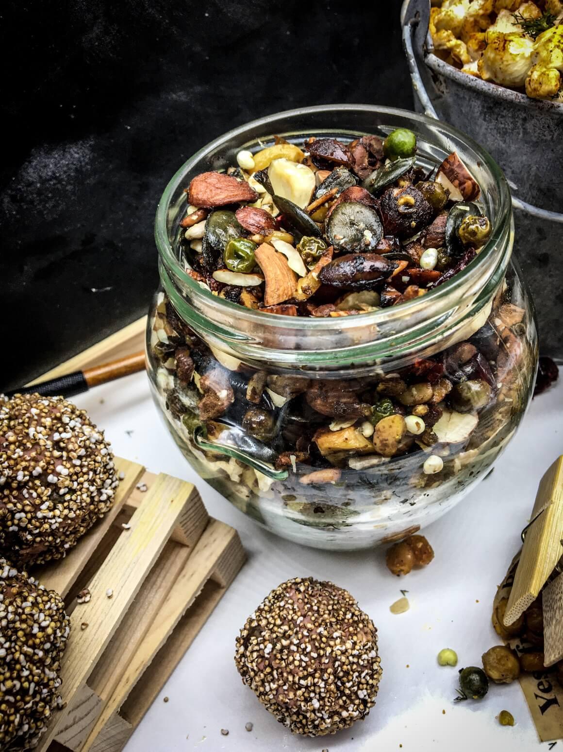 Kuglice i slana granola