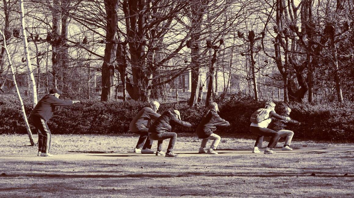 Čučnjevi kao vježbe za koljena