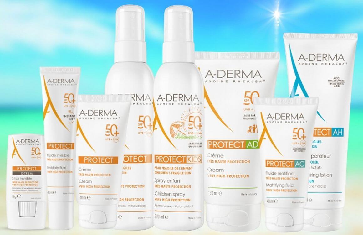 A-DERMA Protect proizvodi