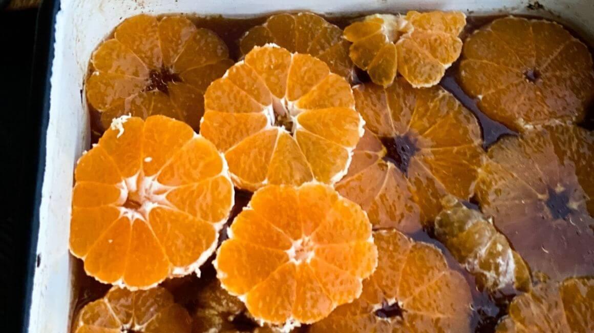 Kolač s mandarinom i kokosom