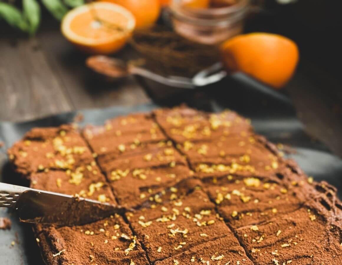 Narezan kolač od naranče