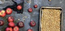 Prhka pita od jabuka s vanilijom