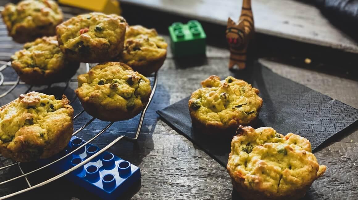Slani muffini od prosa i povrća