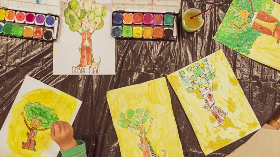 Slikanje drveća