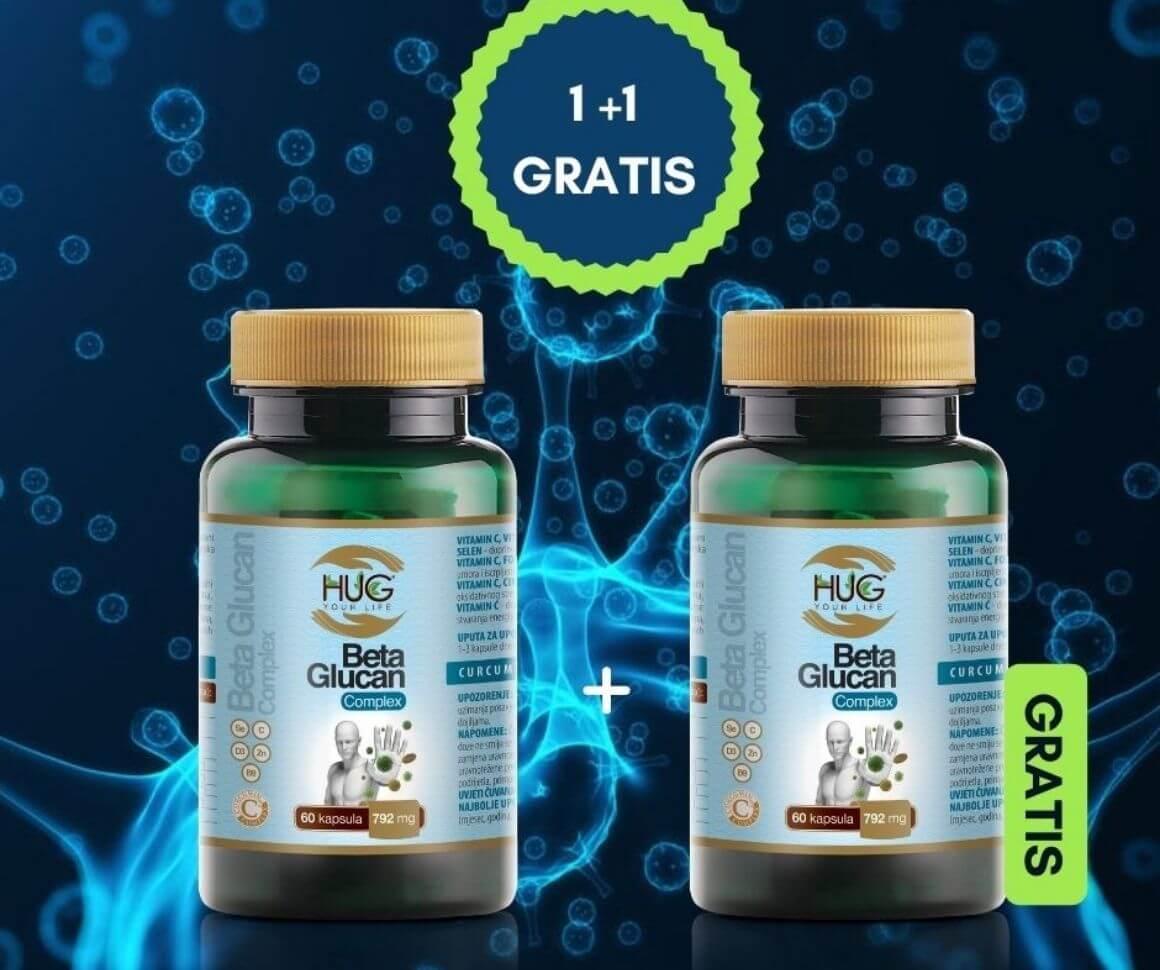 Beta Glucan Complex 1+1 gratis