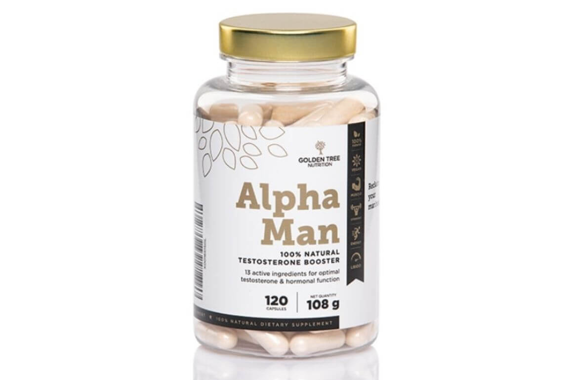 Alpha Man 100% Natural Testosterone Booster