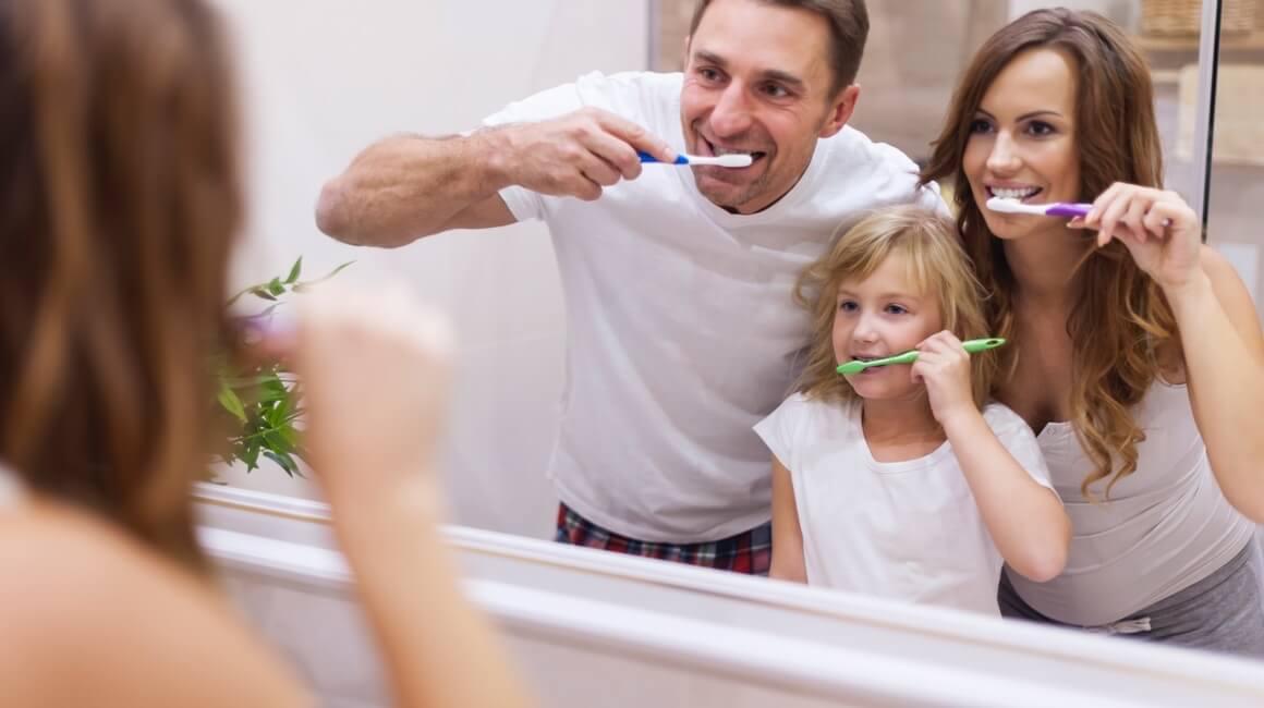 Pravilo - četkanje zubi