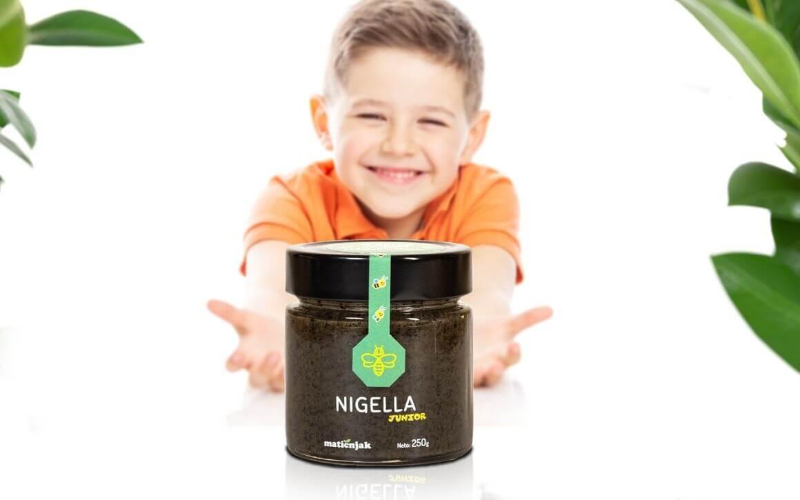 Funkcionalni med - Nigella junior