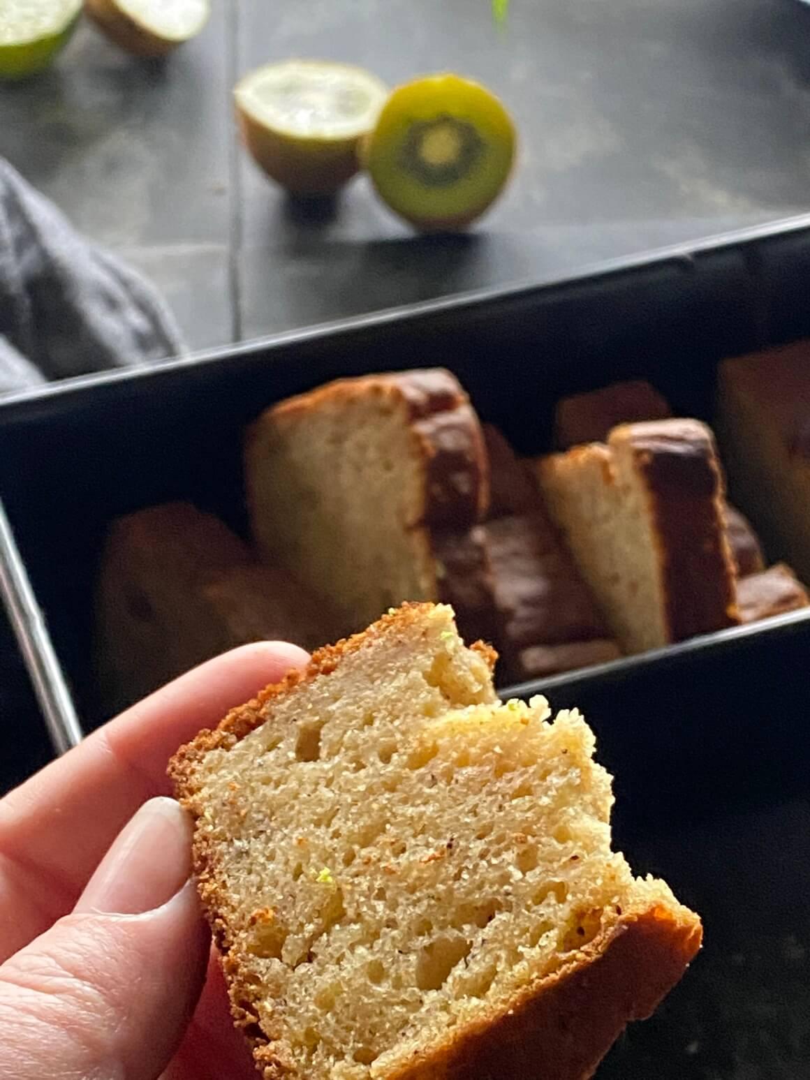 Kruh od kivija tekstura