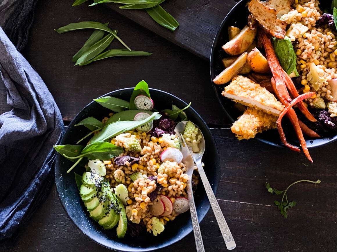 Salata od ječma i kukuruza