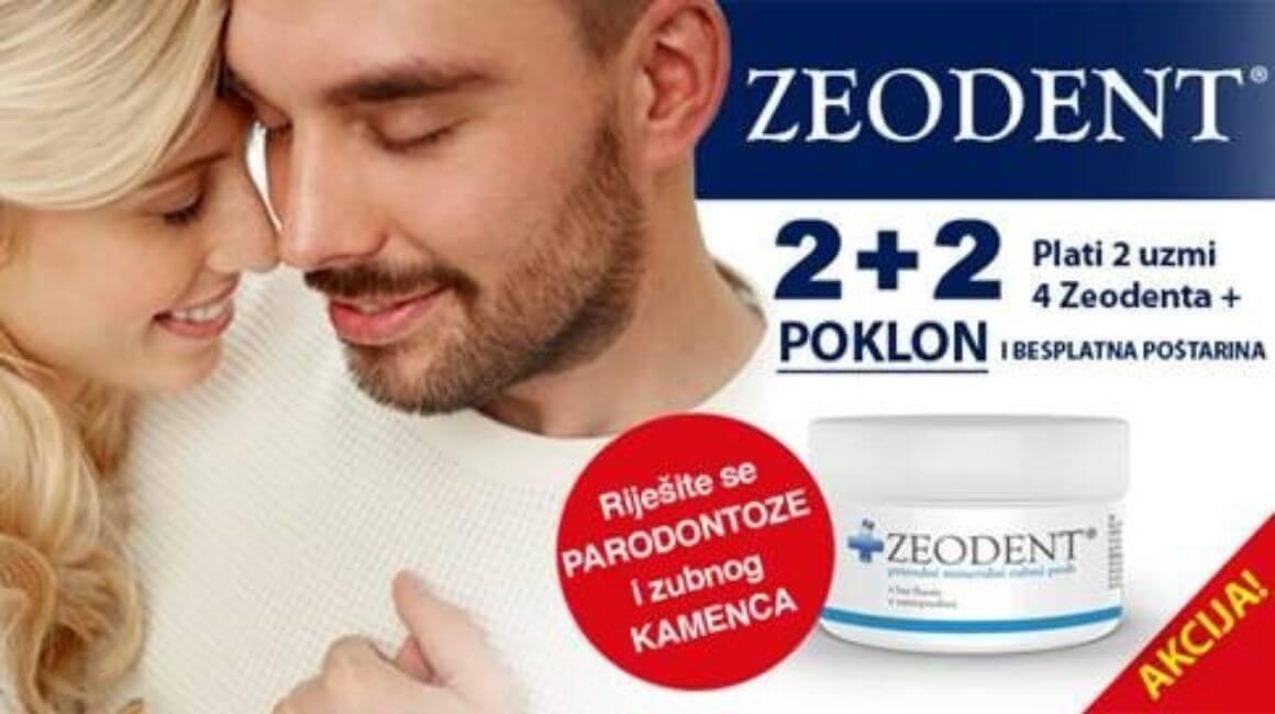 Zeodent - 2+2 gratis
