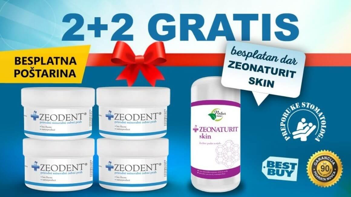 Zeodent - akcija