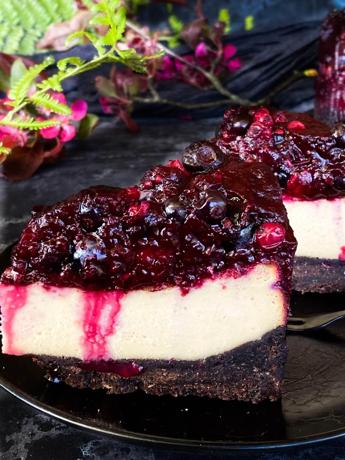 Cheesecake od šumskog voća