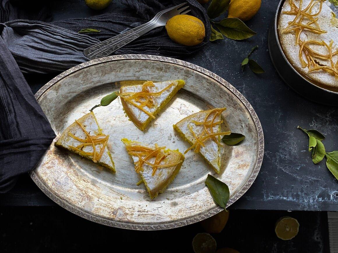 Starinski kolač od limuna