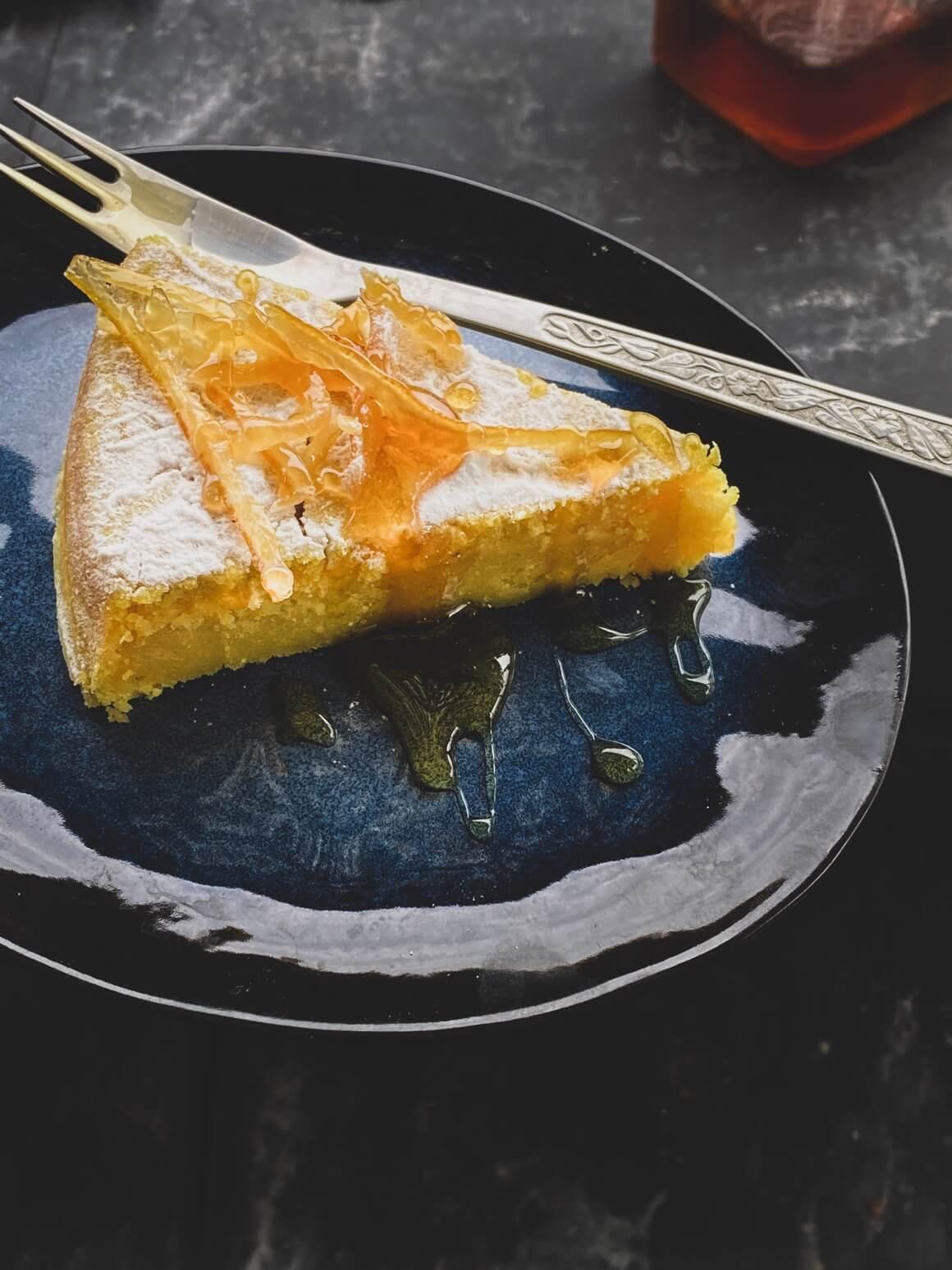 Starinski kolač od limuna na veganski način