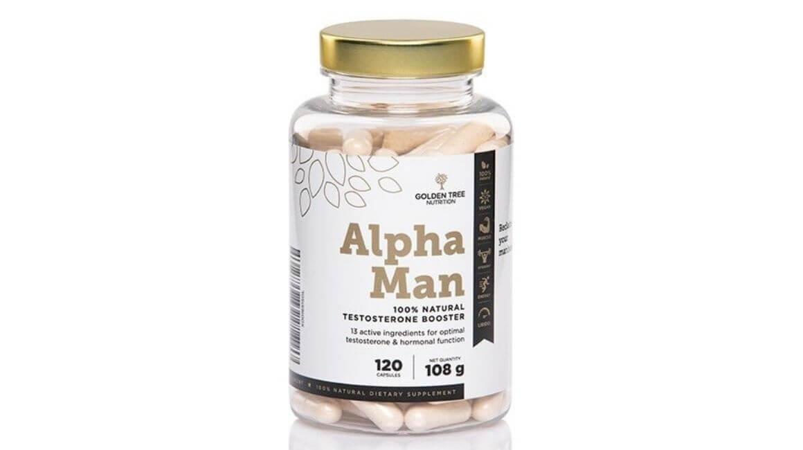 Golden Tree Alpha Man 100% Natural Testosterone Booster