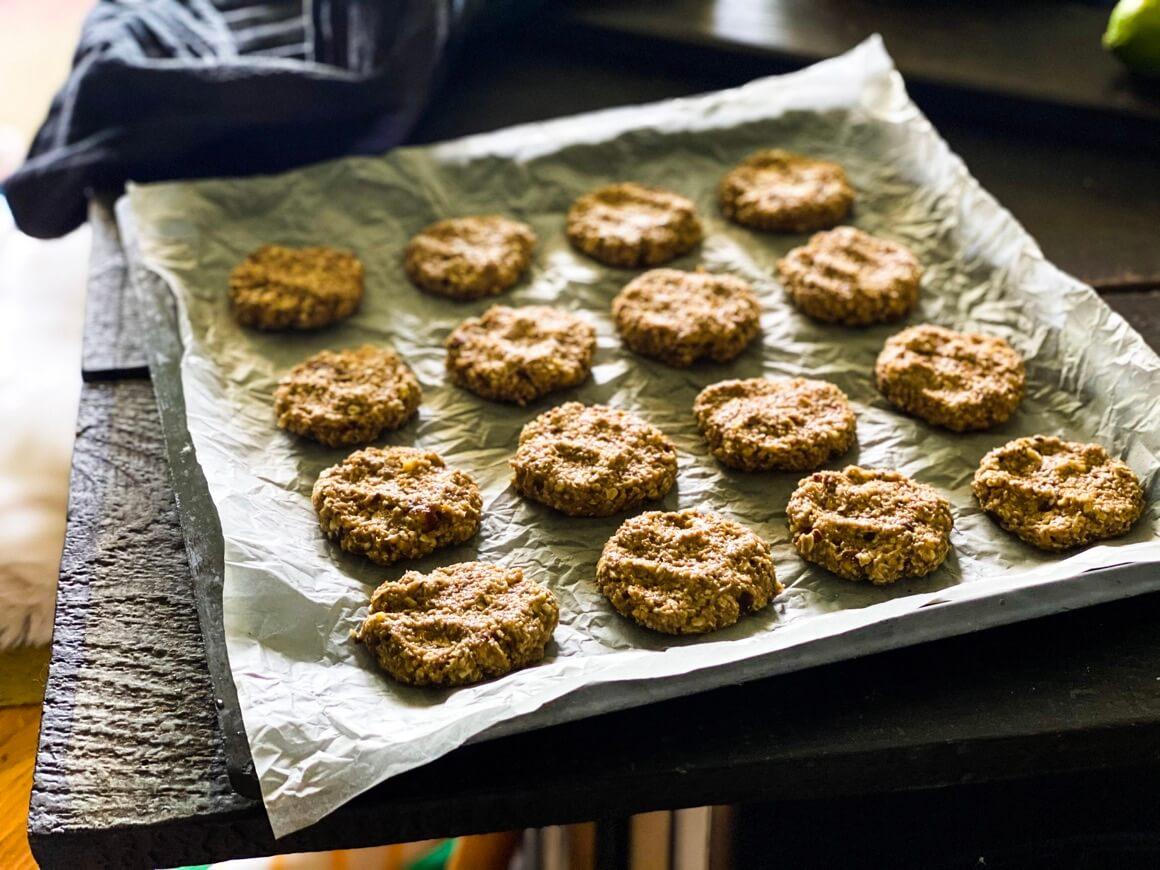 Zdravi prhki keksi